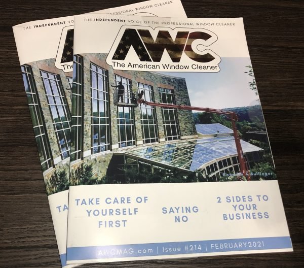 Feb 2021 issue of the American Window Cleaner Magazine
